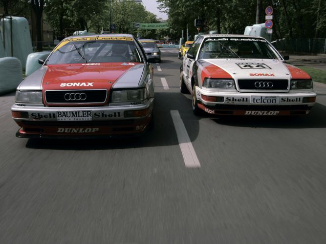 1991 Audi V8 Quattro DTM race racing v-8 gt wallpaper