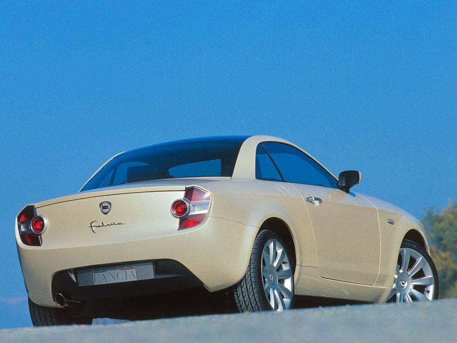 2003 Lancia Fulvia Coupe Concept    d wallpaper
