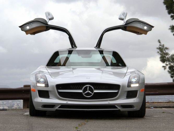 2010 Mercedes Benz SLS 63 AMG US-spec (C197) 6-3 supercar hj wallpaper