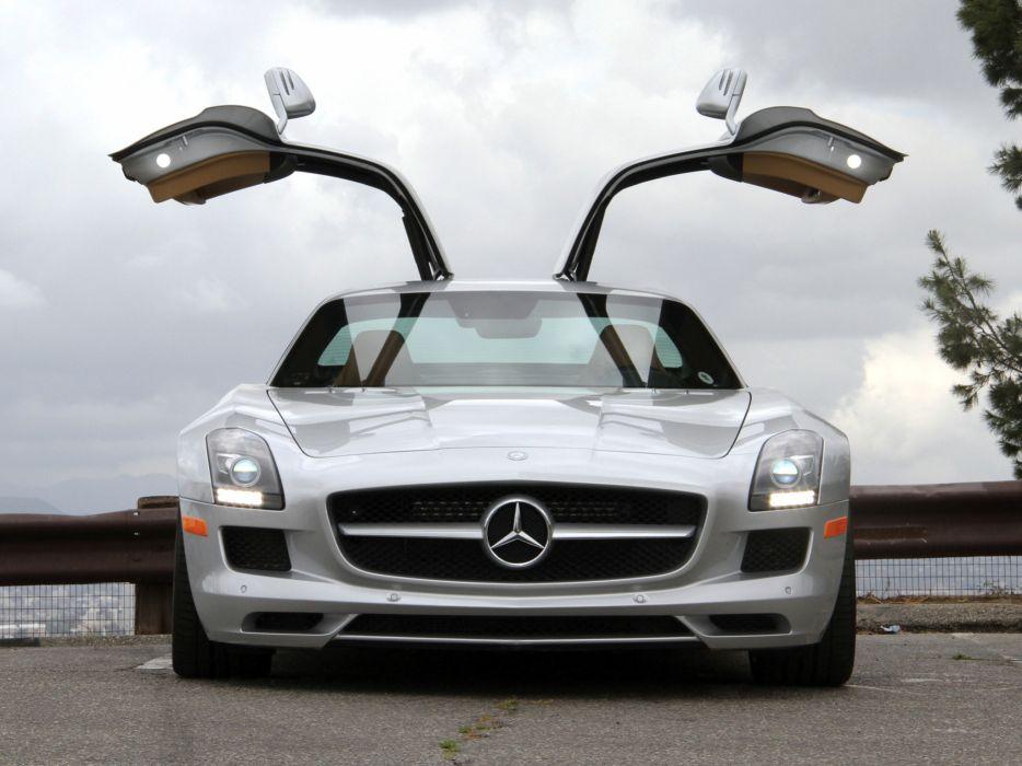 2010 Mercedes Benz SLS 63 AMG US-spec (C197) 6-3 supercar    hj wallpaper