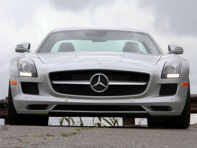 2010 Mercedes Benz SLS 63 AMG US-spec (C197) 6-3 supercar h wallpaper