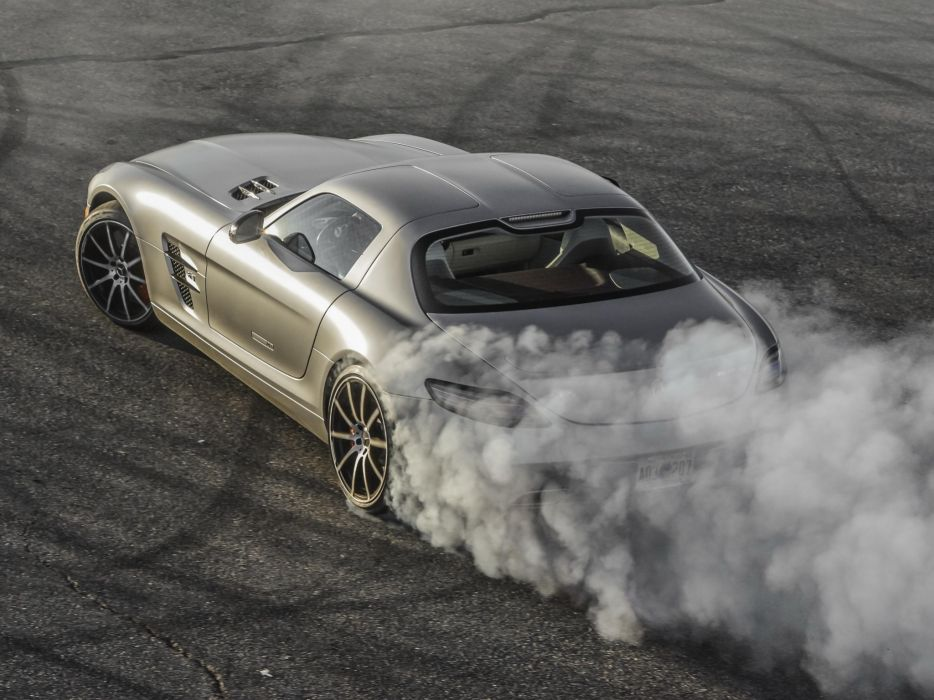 2010 Mercedes Benz SLS 63 AMG US-spec (C197) 6-3 supercar  t wallpaper