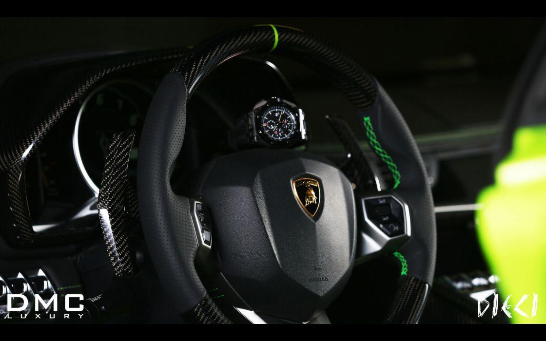 2013 DMC Lamborghini Aventador LP700-4 DIECI supercar interior    g wallpaper
