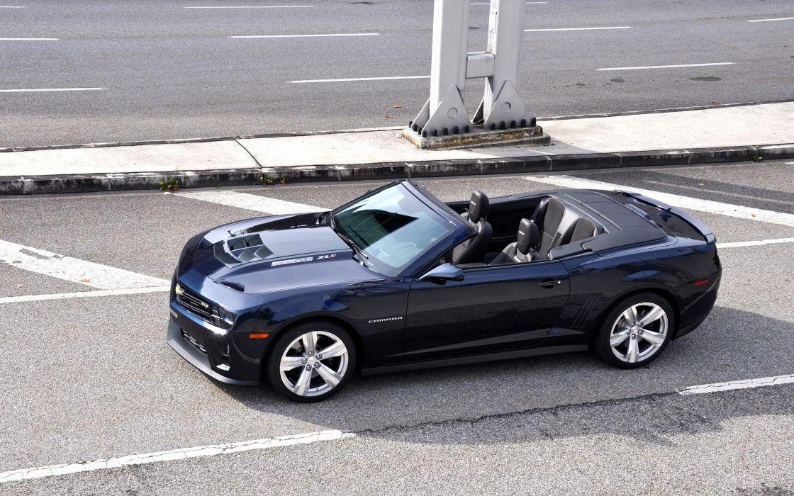 2013 GeigerCars Chevrolet Camaro ZL1 Cabrio convertible muscle   h wallpaper