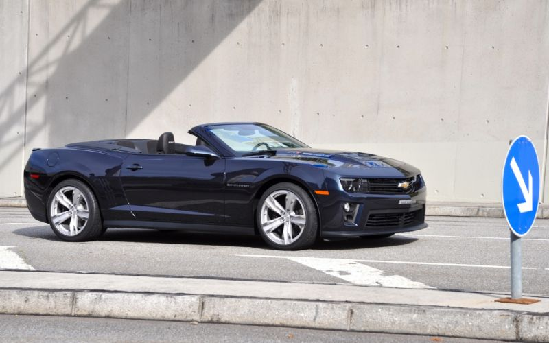 2013 GeigerCars Chevrolet Camaro ZL1 Cabrio convertible muscle t wallpaper