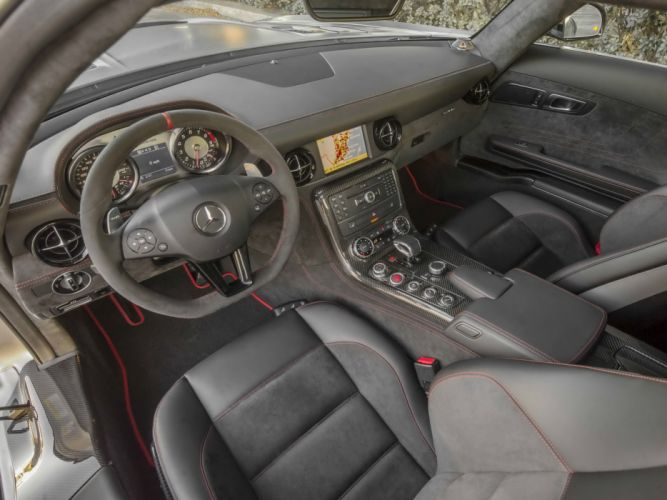 2013 Mercedes Benz SLS 63 AMG Black Series US-spec (C197) sls-63 supercar interior g wallpaper