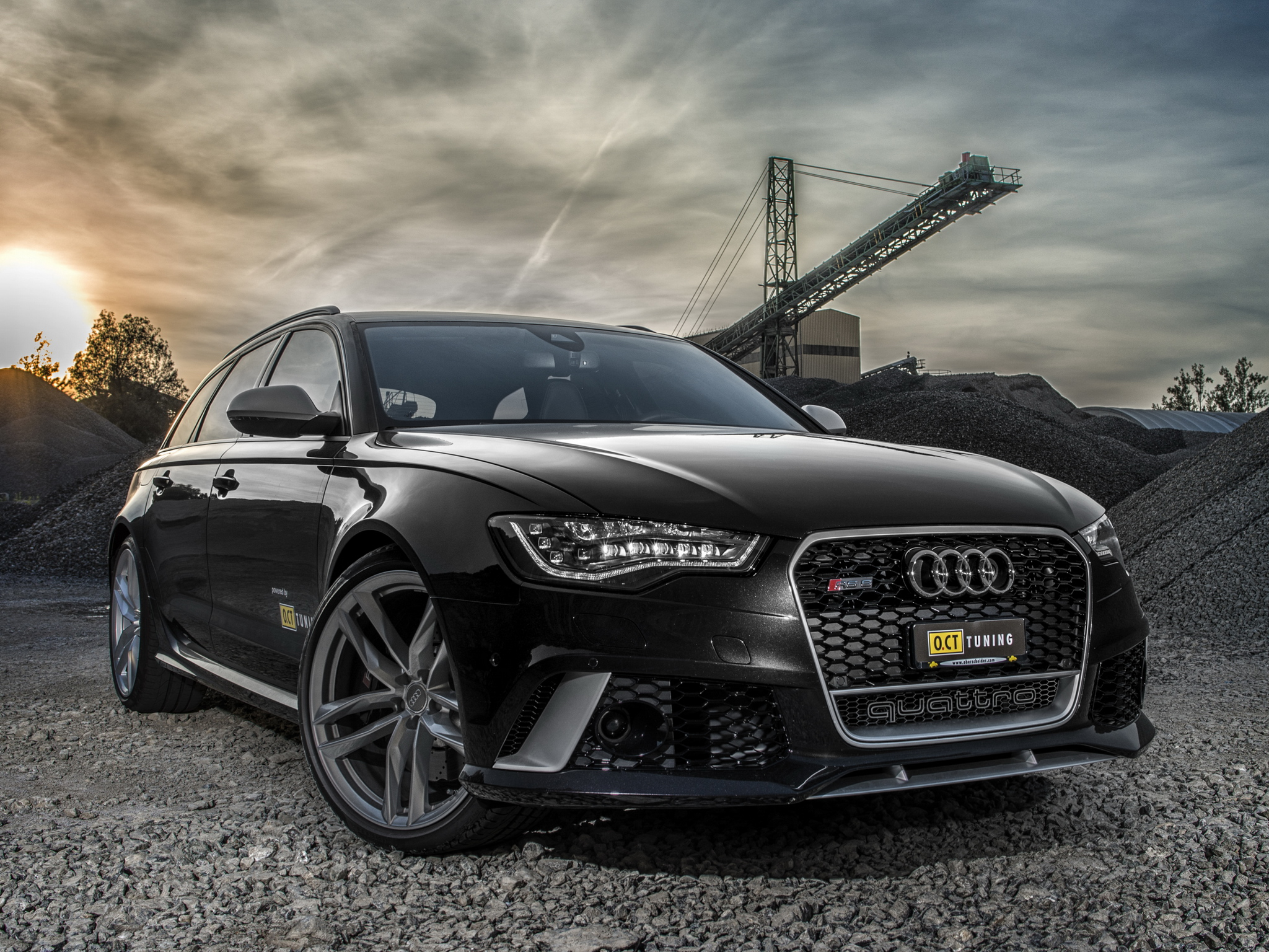 2013 Oct Tuning Audi Rs6 Avant 4gc7 Tuning Stationwagon G Wallpaper 2048x1536 167344 Wallpaperup