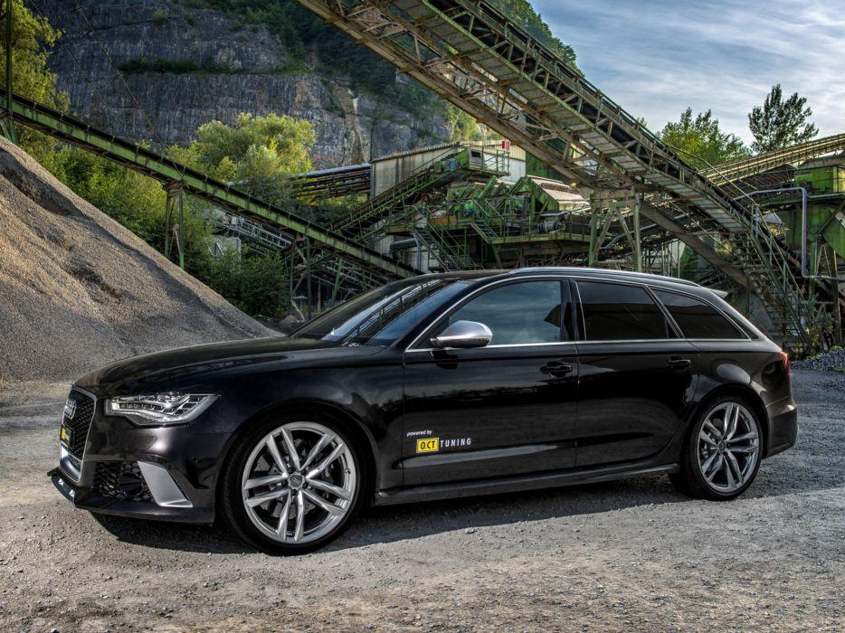 2013 OCT-Tuning Audi RS6 Avant (4GC7) tuning stationwagon        g wallpaper