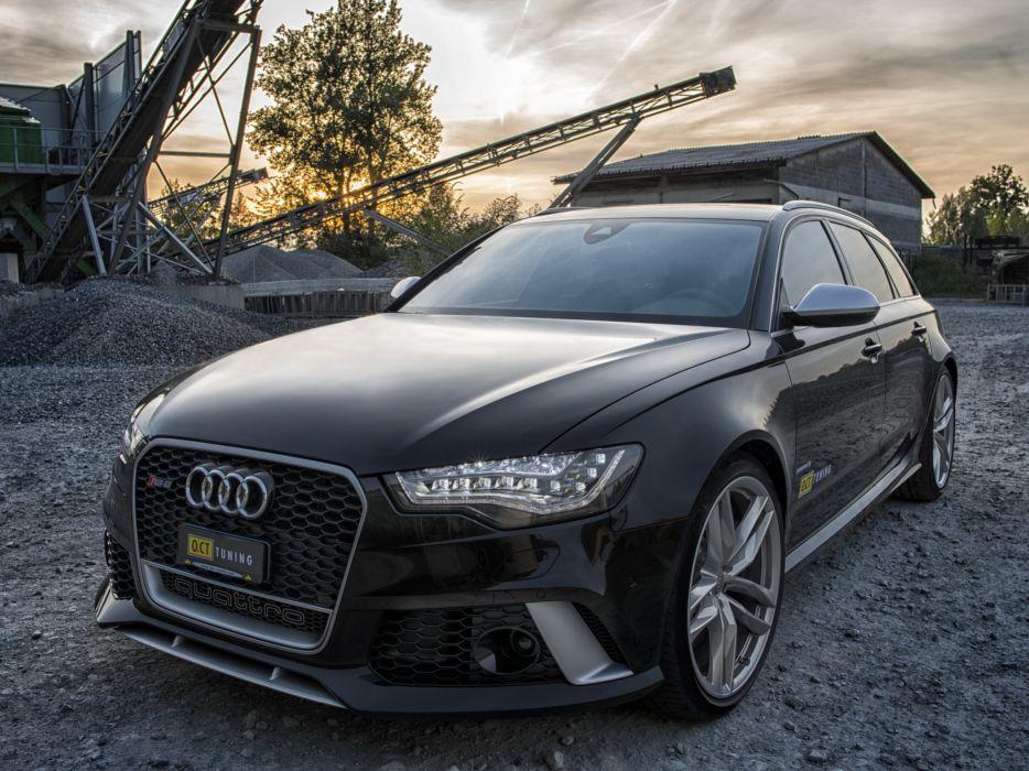 2013 OCT-Tuning Audi RS6 Avant (4GC7) tuning stationwagon    r wallpaper
