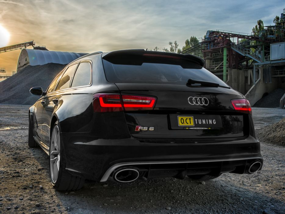 2013 OCT-Tuning Audi RS6 Avant (4GC7) tuning stationwagon   g wallpaper