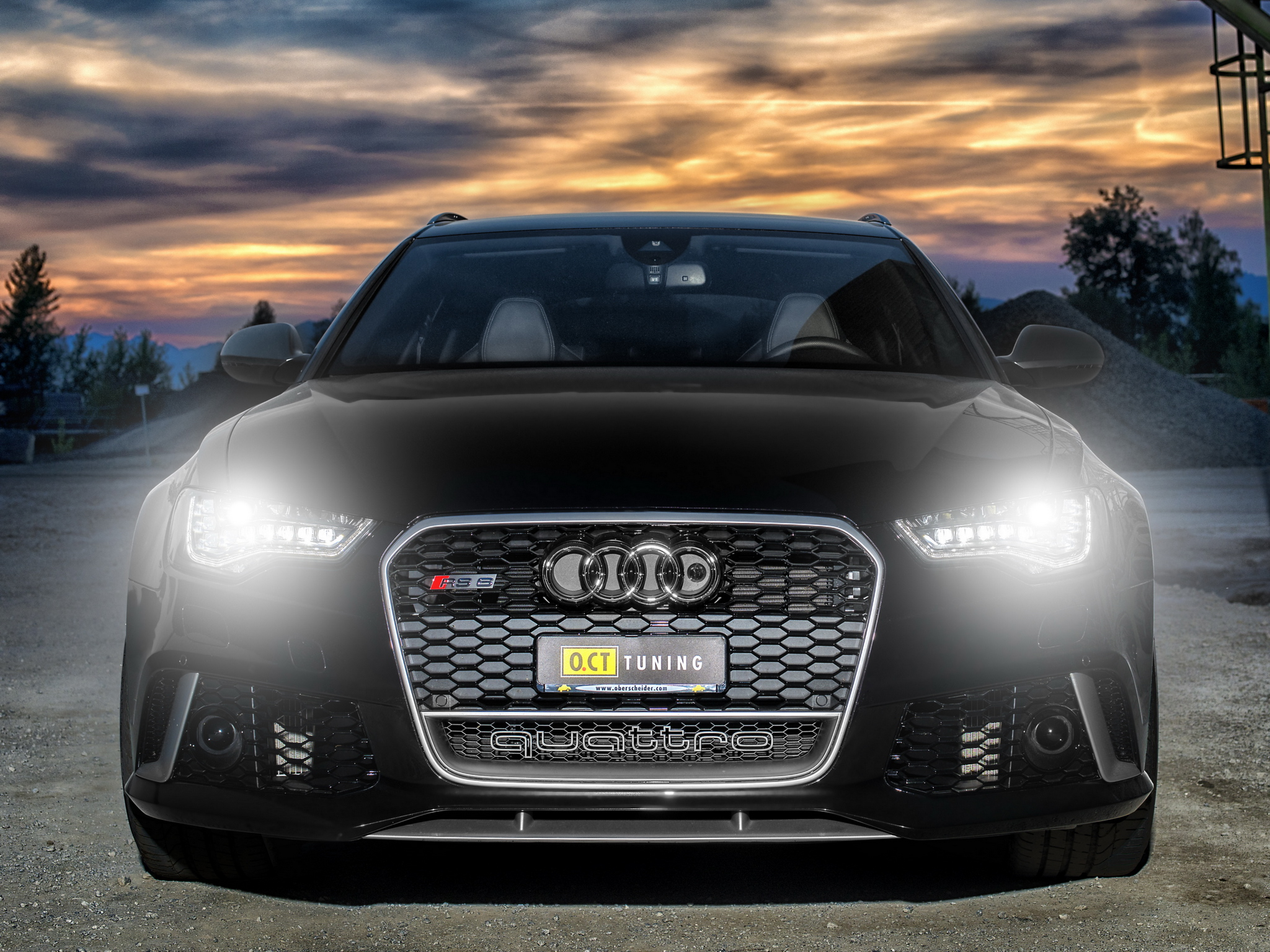 2013 OCT-Tuning Audi RS6 Avant (4GC7) tuning stationwagon gs