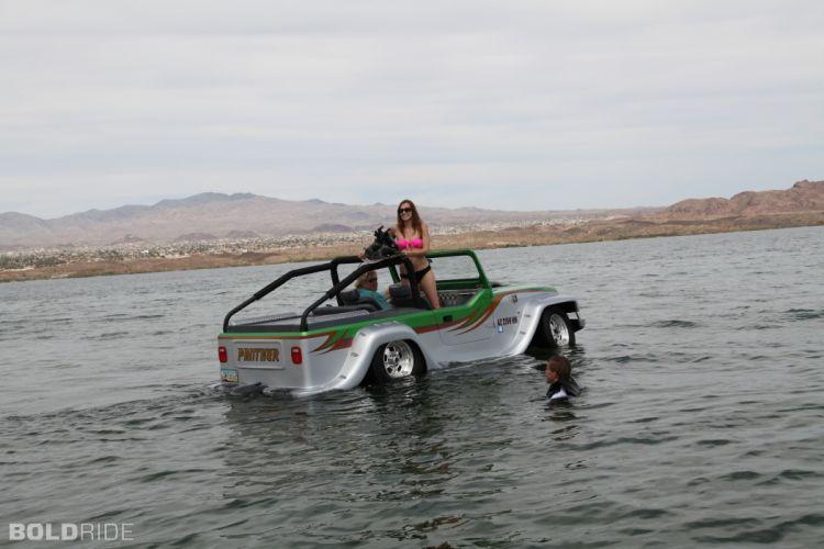 2013 WaterCar Panther supercar bot ship amphib jeep hot rod rods r wallpaper