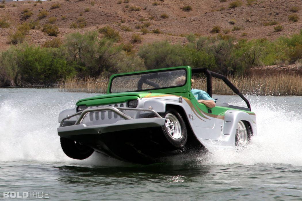 2013 WaterCar Panther supercar bot ship amphib jeep hot rod rods  h wallpaper