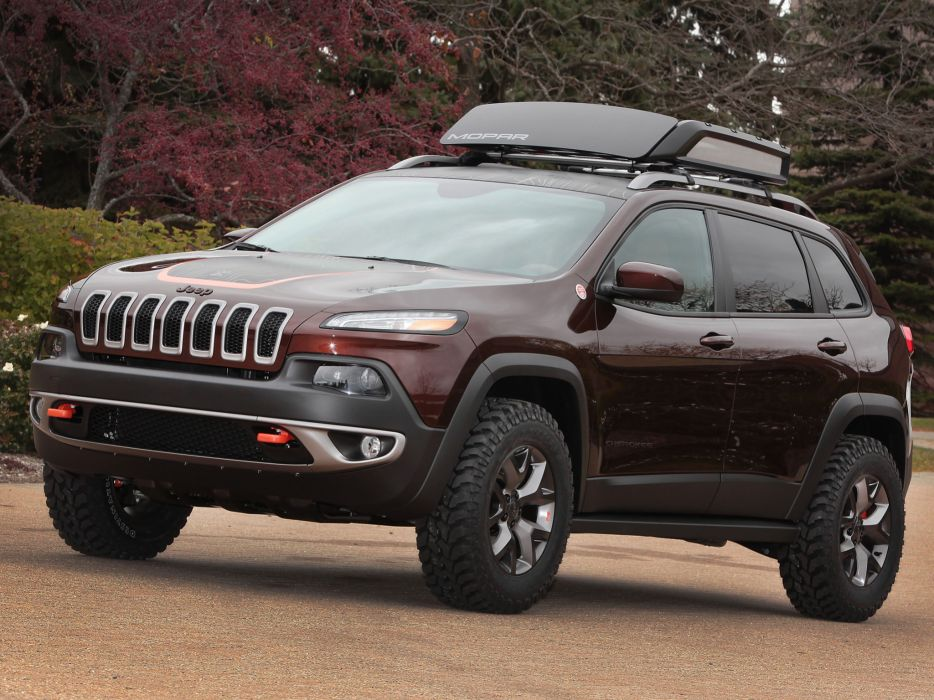 2014 Jeep Cherokee Trail Carver (KL) awd wallpaper