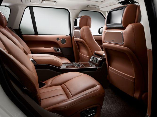 2014 Range Rover Autobiography Black (L405) suv luxury interior g wallpaper