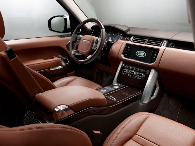 2014 Range Rover Autobiography Black (L405) suv luxury interior j wallpaper
