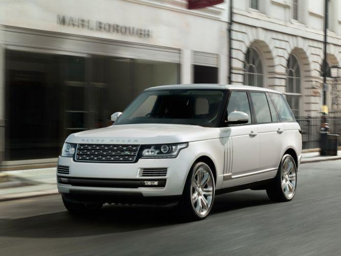 2014 Range Rover Autobiography Black (L405) suv luxury hd wallpaper