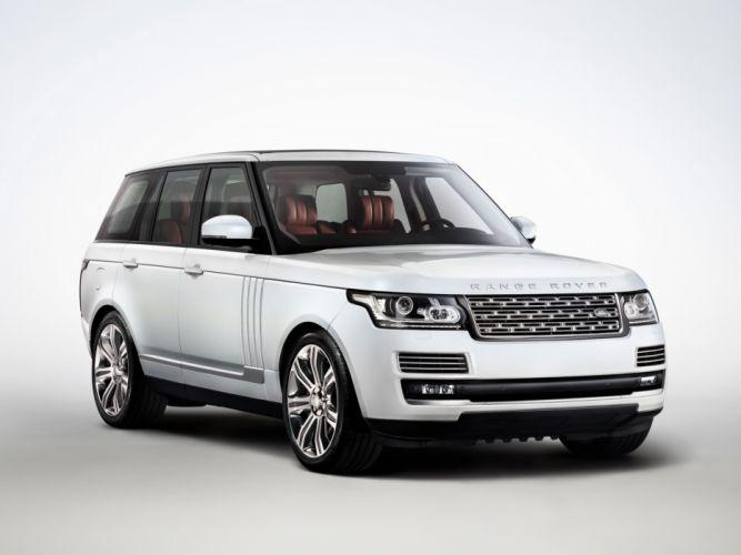 2014 Range Rover Autobiography Black (L405) suv luxury wallpaper
