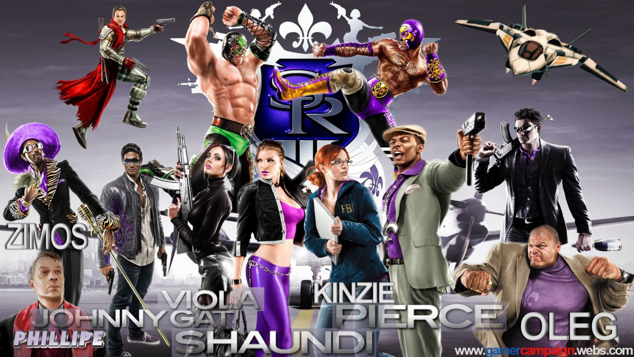 SAINTS ROW game     g wallpaper