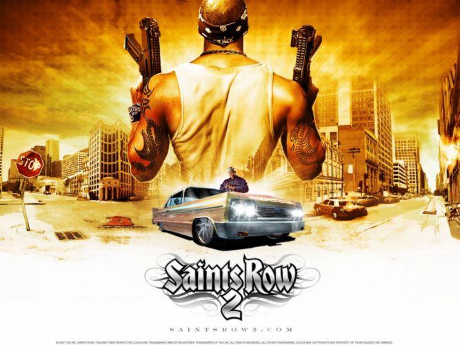 SAINTS ROW game r wallpaper