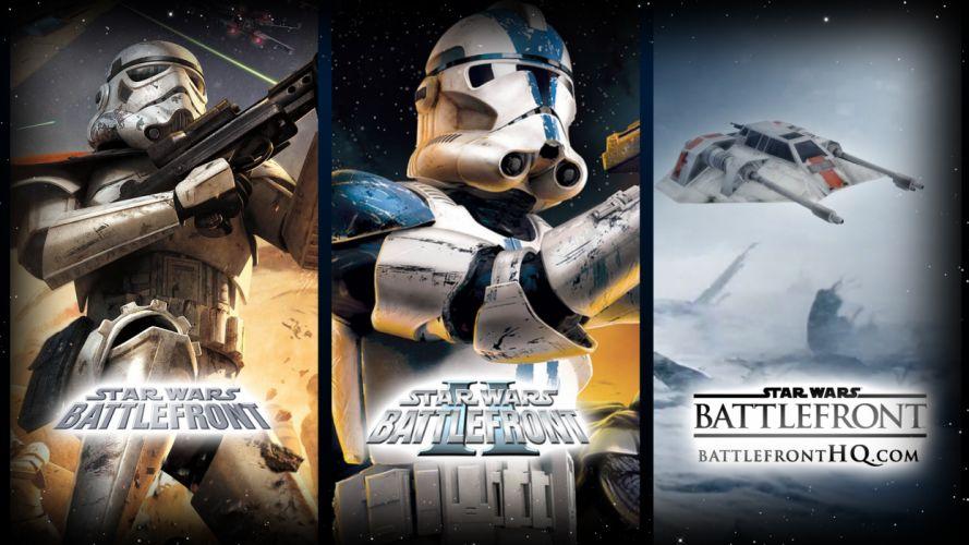STAR WARS BATTLEFRONT sci-fi t wallpaper