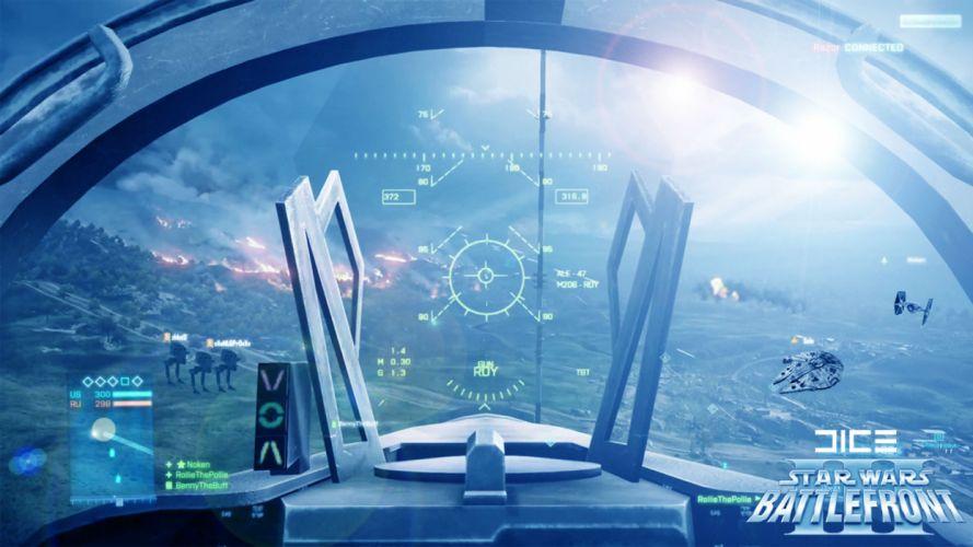 STAR WARS BATTLEFRONT sci-fi spaceship i wallpaper
