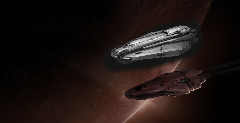 ELITE DANGEROUS sci-fi spaceship game   d wallpaper