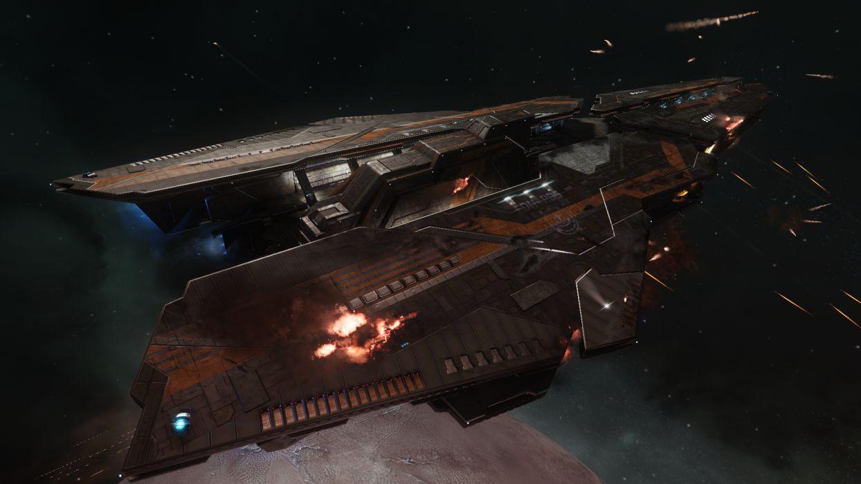 ELITE DANGEROUS sci-fi spaceship game  y wallpaper