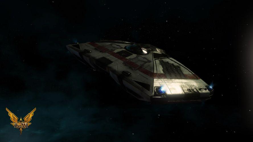 ELITE DANGEROUS sci-fi spaceship game g wallpaper