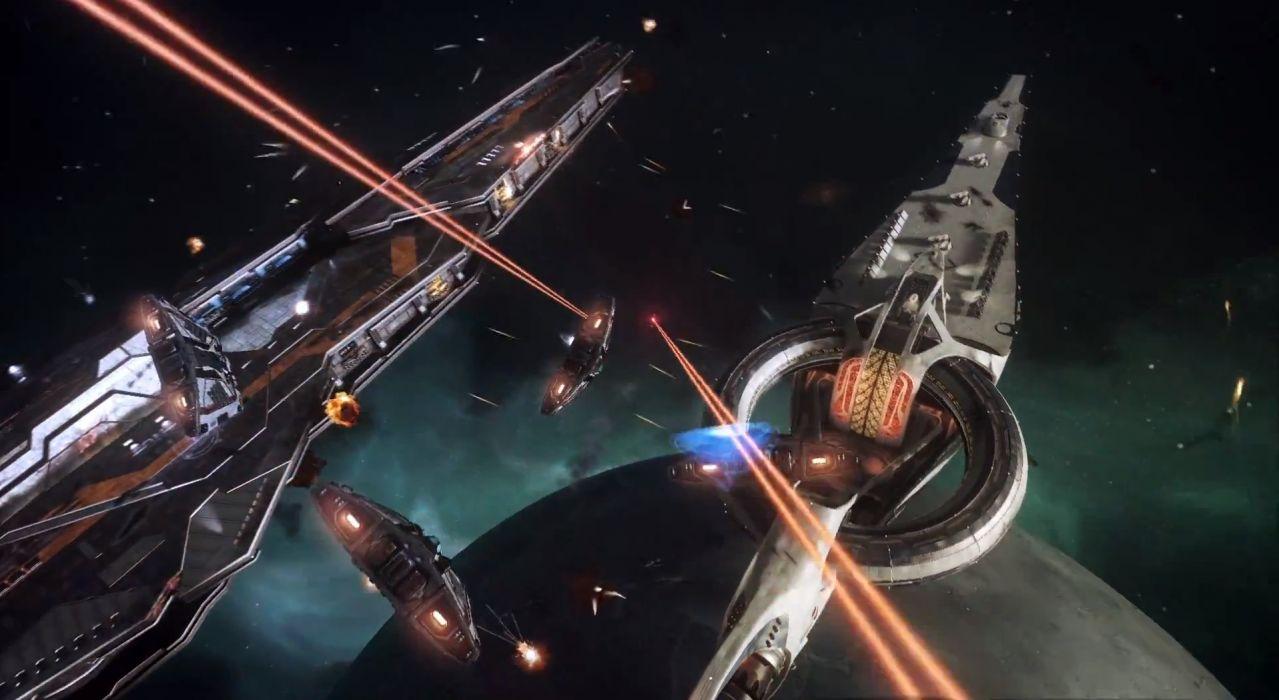 ELITE DANGEROUS sci-fi spaceship game battle space     j wallpaper