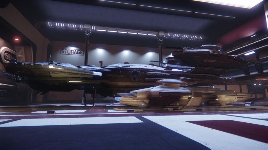 STAR CITIZEN sci-fi spaceship game i wallpaper