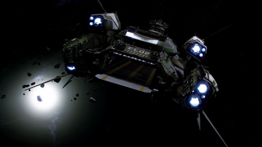 STAR CITIZEN sci-fi spaceship game gs wallpaper
