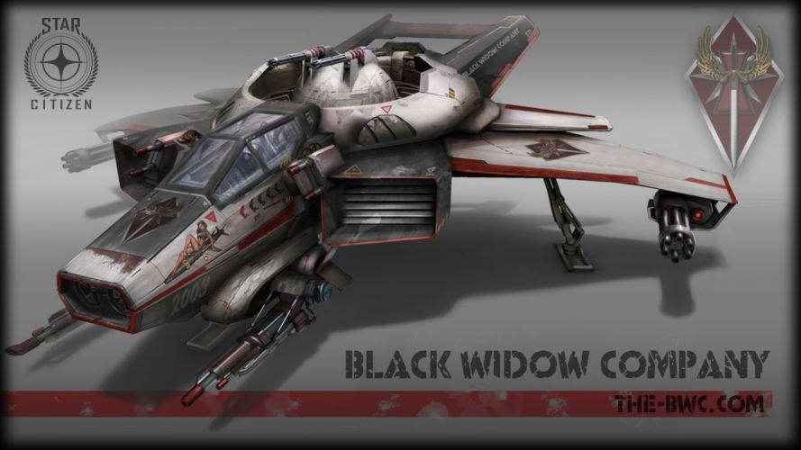 STAR CITIZEN sci-fi spaceship game g wallpaper