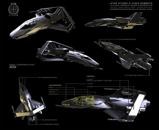 STAR CITIZEN sci-fi spaceship game ha wallpaper