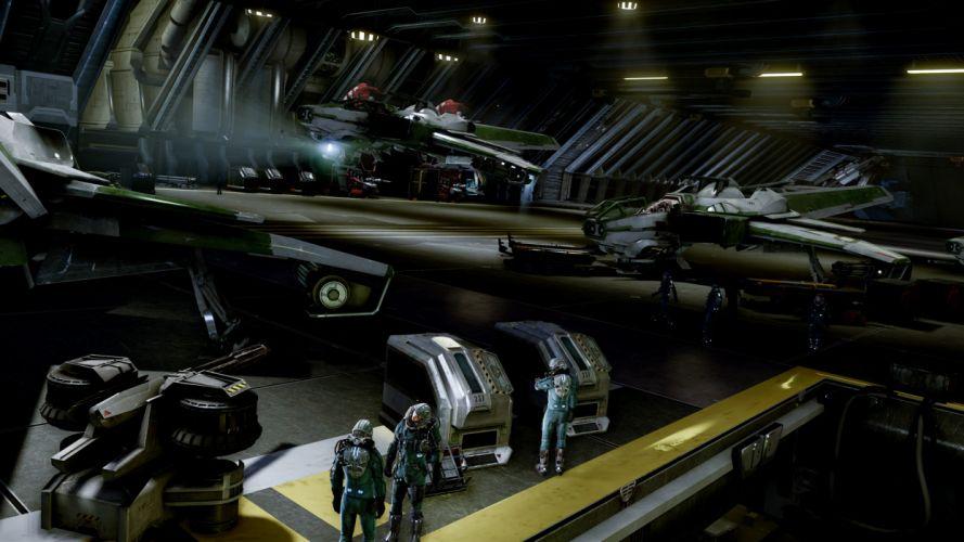 STAR CITIZEN sci-fi spaceship game ho wallpaper