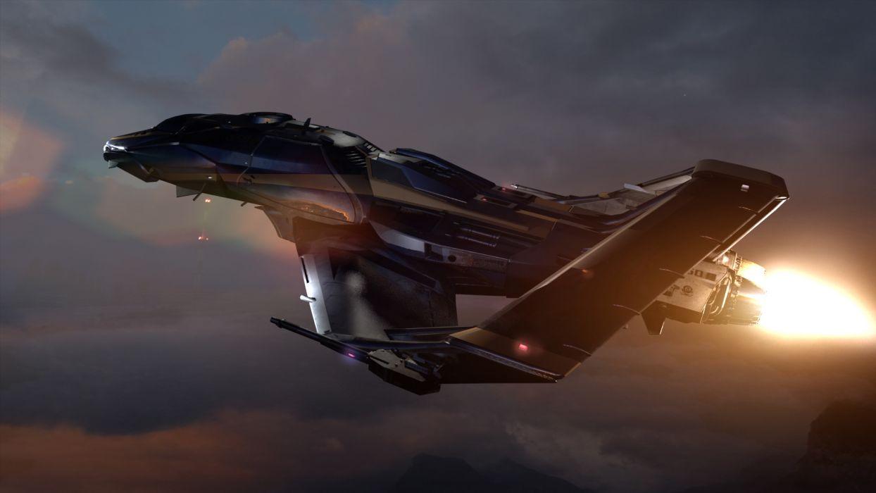 STAR CITIZEN sci-fi spaceship game   hr wallpaper