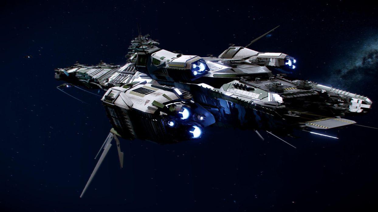STAR CITIZEN sci-fi spaceship game   hs wallpaper