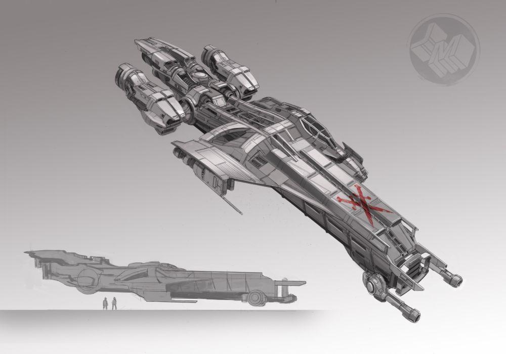 STAR CITIZEN sci-fi spaceship game   is wallpaper