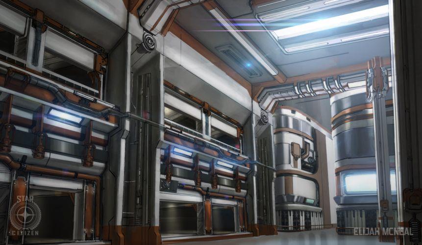STAR CITIZEN sci-fi spaceship game tt wallpaper