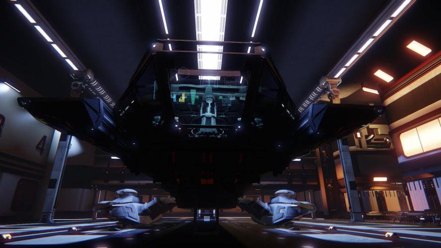 STAR CITIZEN sci-fi spaceship game y wallpaper