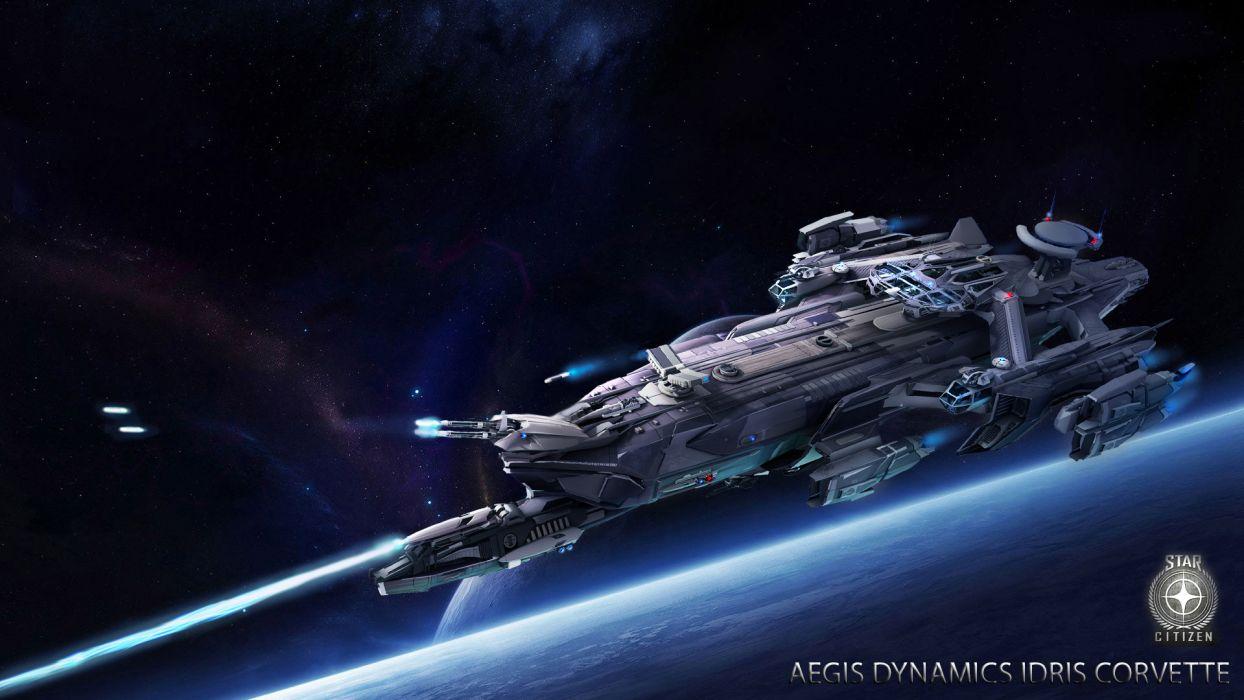 STAR CITIZEN sci-fi spaceship game space    u wallpaper