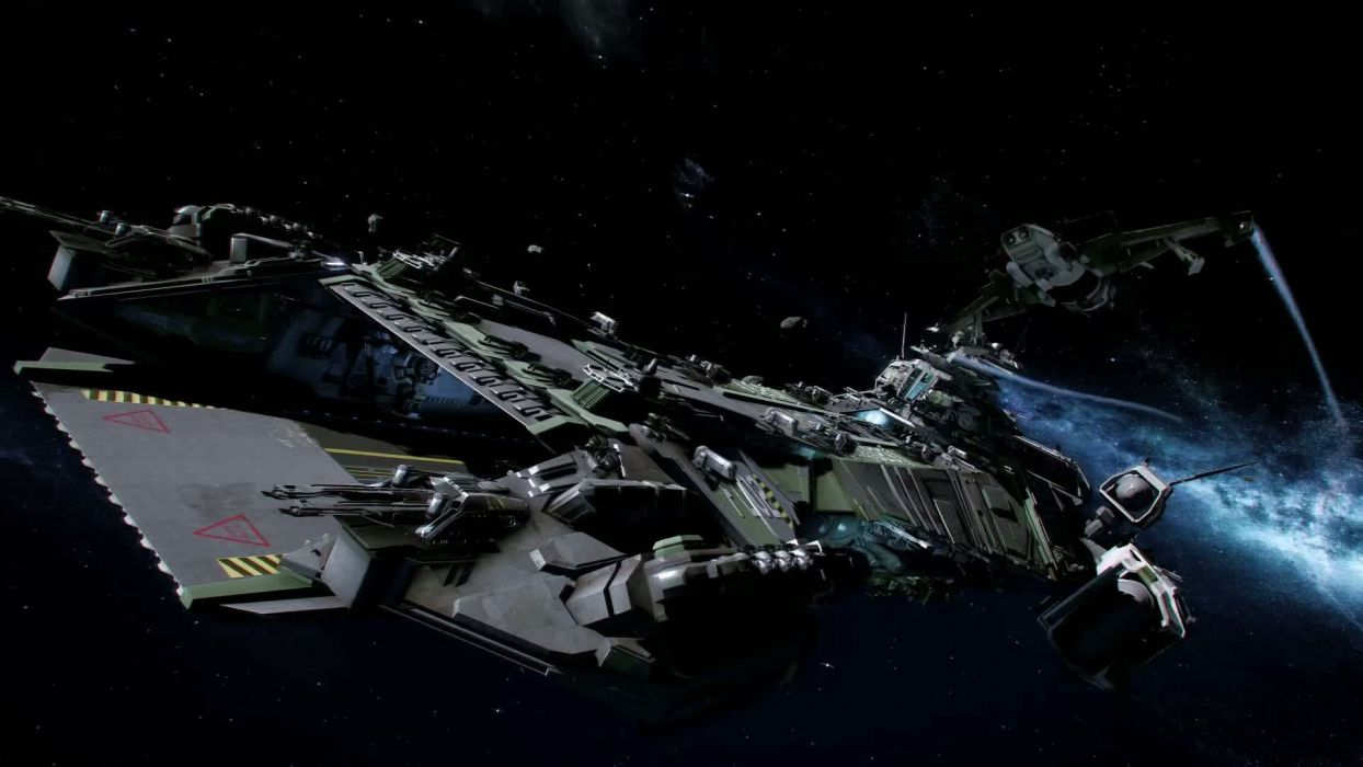 STAR CITIZEN sci-fi spaceship game space    v wallpaper