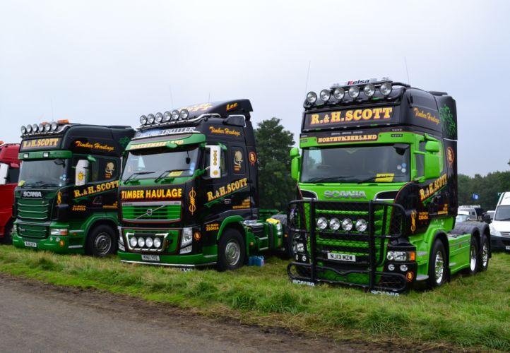 Populaire R&H Scott - Scania R480 Topline Volvo FH13 Globetrotter 500  RI79