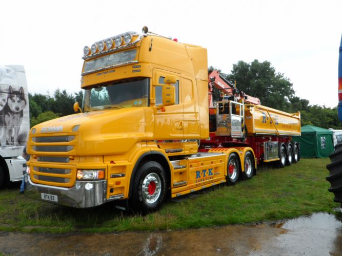 R_T_K_ Grab Hire - Scania T Topline wallpaper