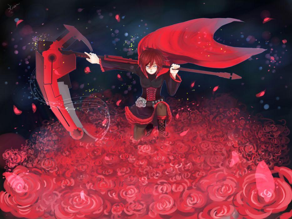 RWBY Ruby Rose wallpaper