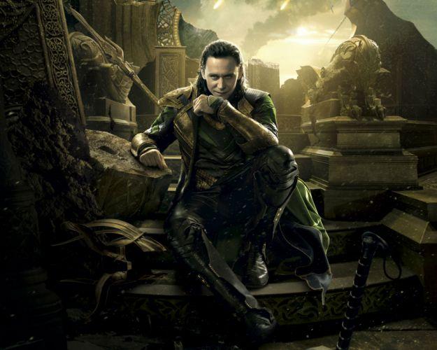 Thor The Dark World Men Tom Hiddleston Movies Celebrities fantasy warrior wallpaper