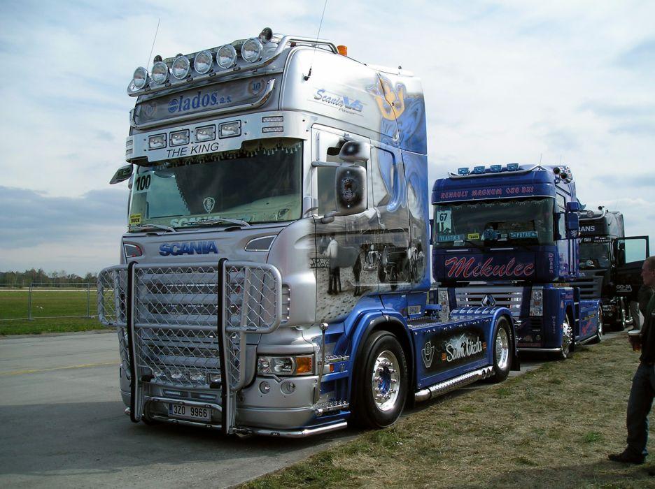 Scania R 620 V8 - SevernA wallpaper