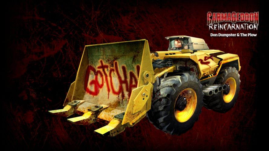 Carmageddon Reincarnation game g wallpaper