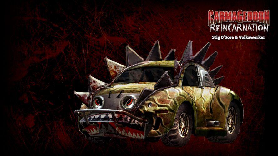 Carmageddon Reincarnation game gw wallpaper