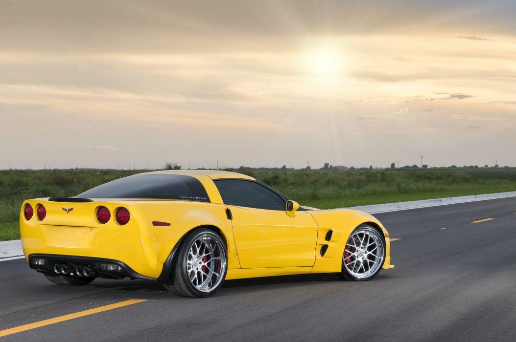 WideBody Corvette Z06 wallpaper